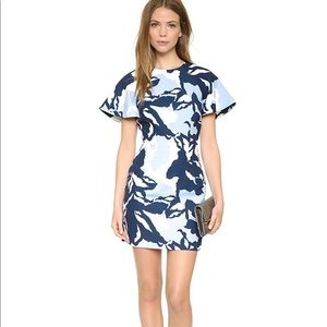 Keepsake Wasting Time dress S blue floral